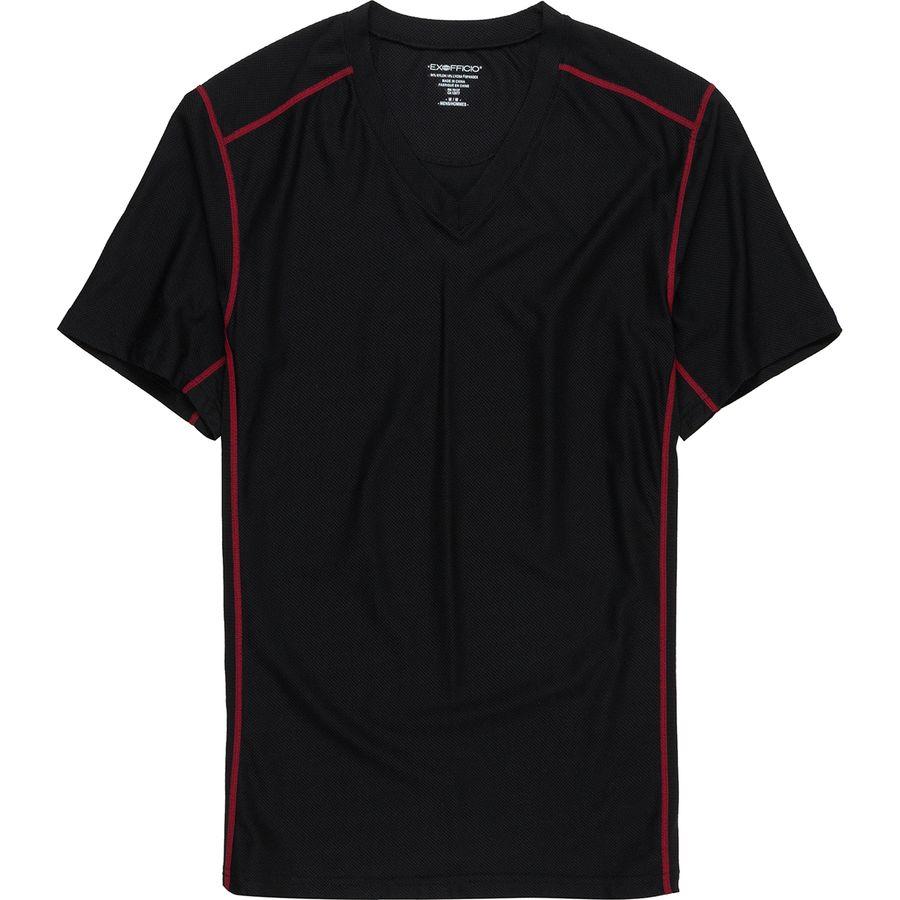 ExOfficio GiveNGo Sport Mesh V-Neck Shirt - Mens