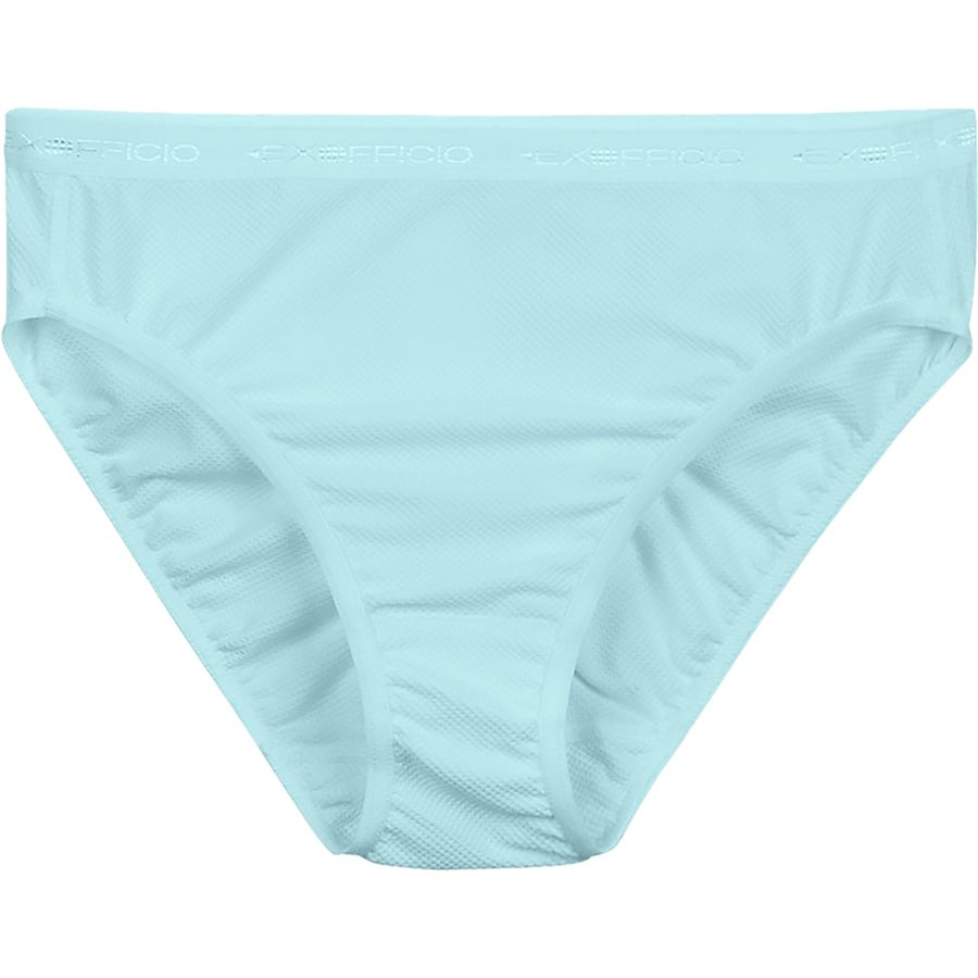 ExOfficio - Give-N-Go Bikini Brief - Women s - Blue Ice 816075656