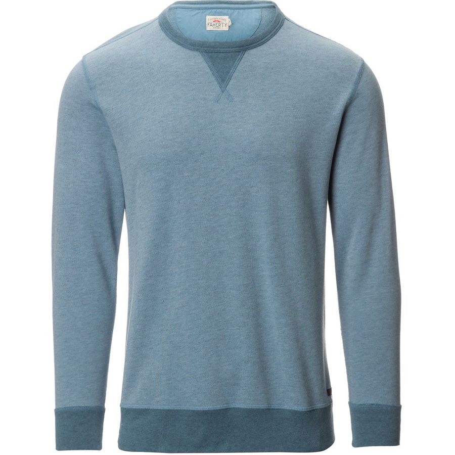 Faherty French Terry Crew Neck Sweatshirt - Mens