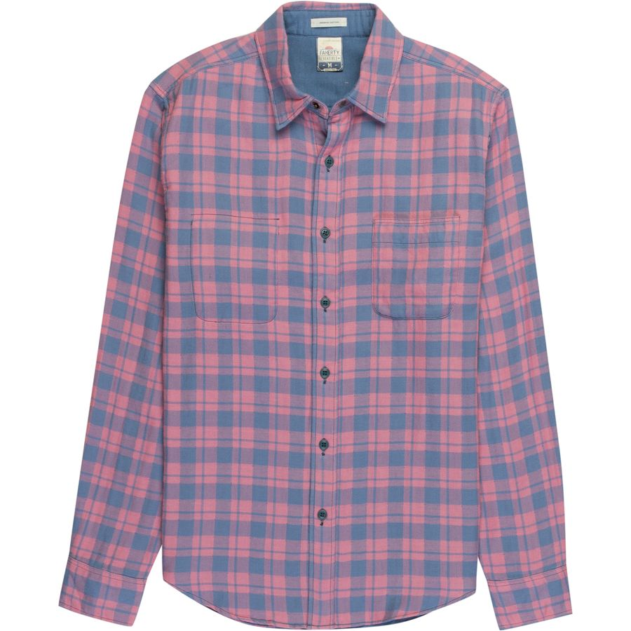 Faherty Reversible Belmar Shirt - Mens