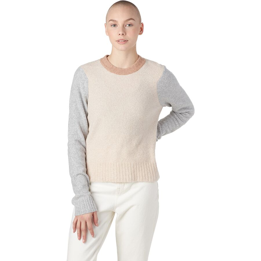 Faherty Summit Colorblock Sweater - Womens