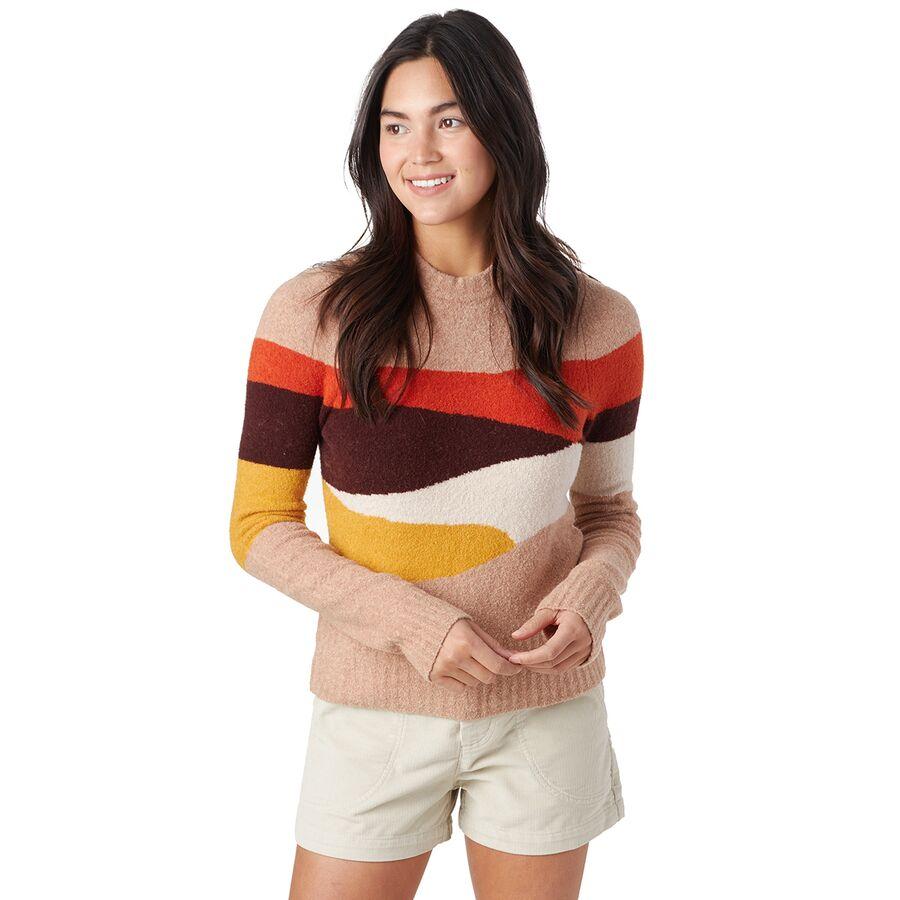 Faherty Summit Intarsia Sweater - Womens