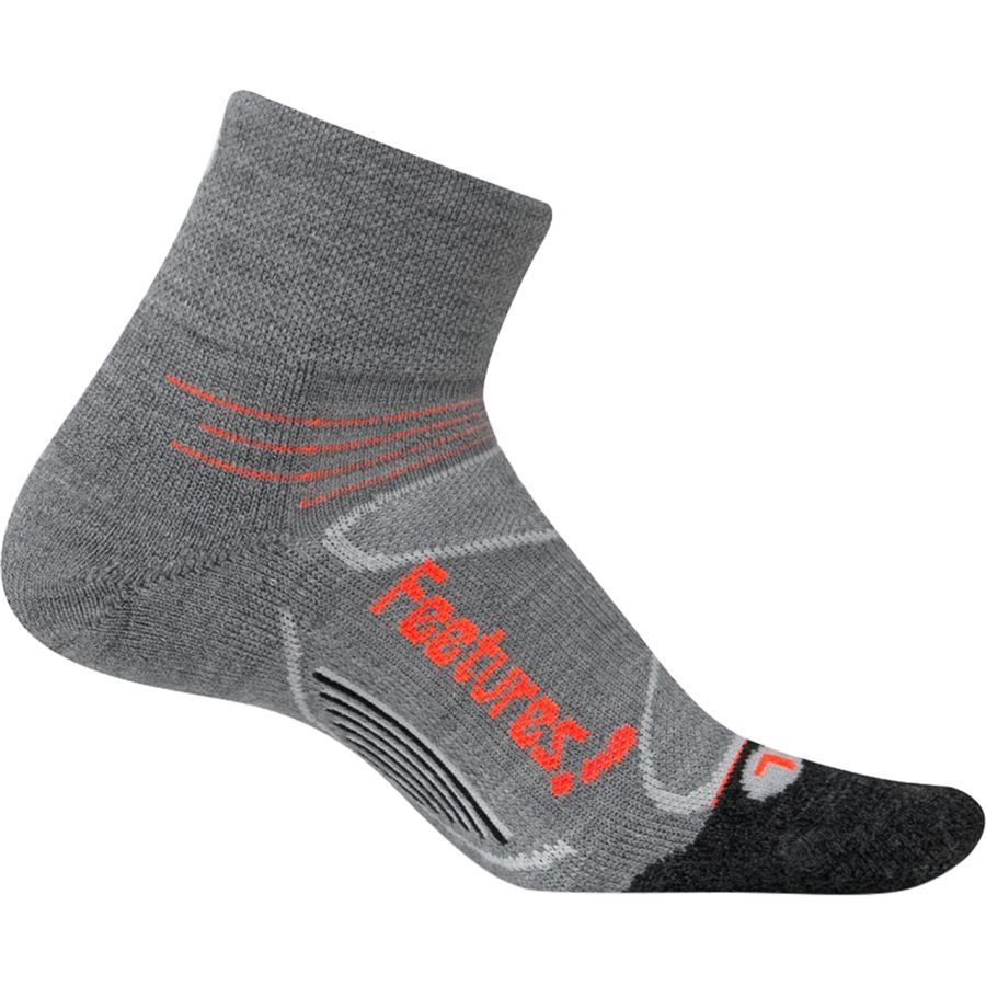 Feetures! Elite Merino+ Light Cushion Quarter Sock - Womens
