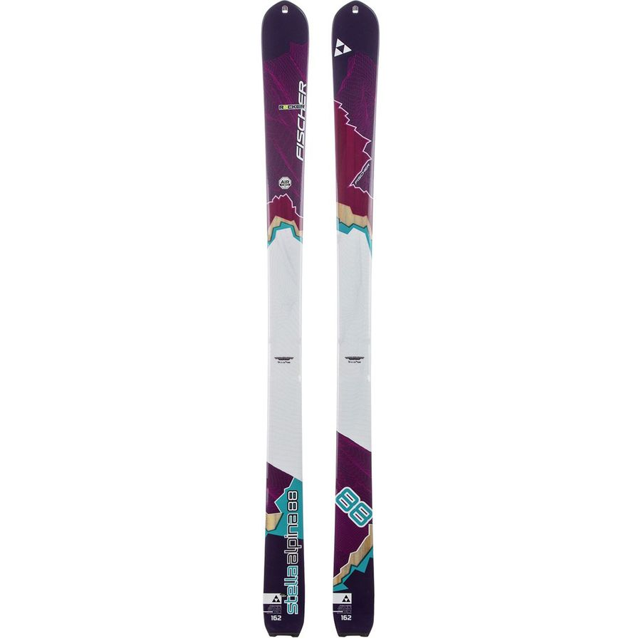 Fischer Stella Alpina Ski Womens Backcountrycom - Alpina backcountry skis