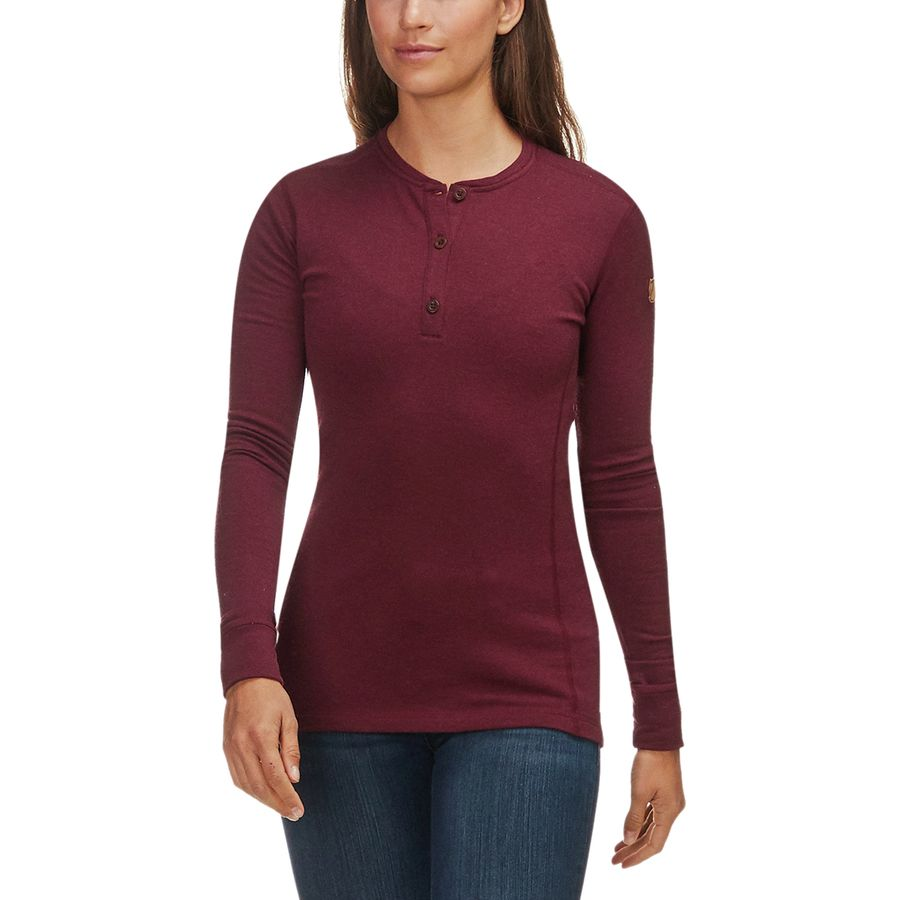 Fjallraven Lappland Merino Henley Long-Sleeve Shirt - Womens