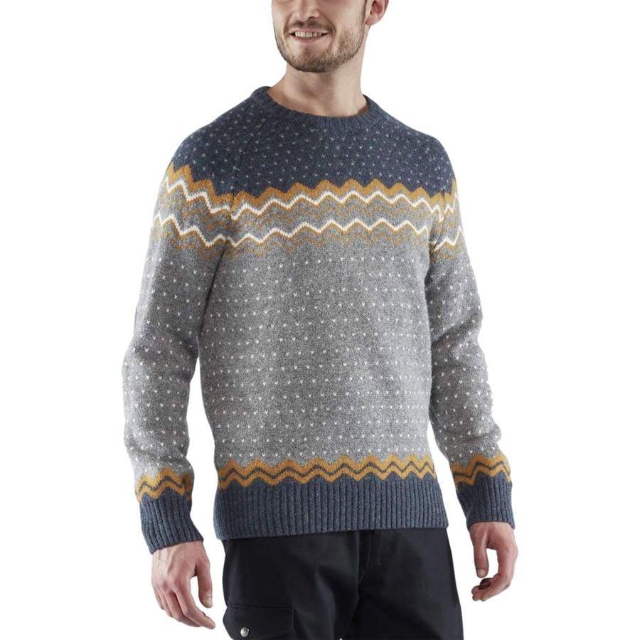 a4f3e78141ce Fjallraven - Ovik Knit Sweater - Men s - Acorn