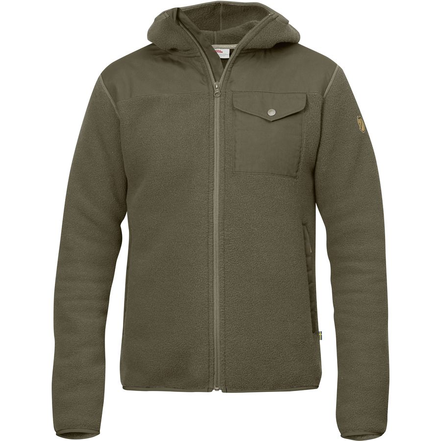 Fjallraven Singi Fleece Hooded Jacket - Men's | Backcountry.com