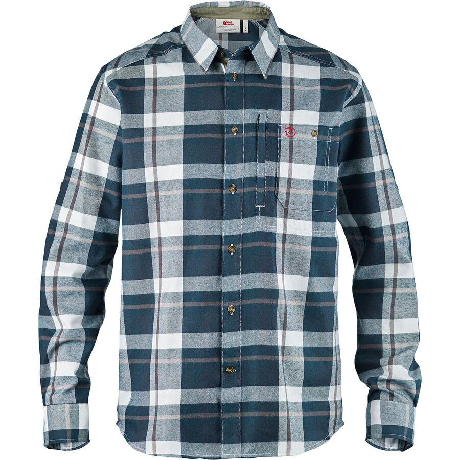 7b03bcec7165 Fjallraven - Fjallglim Flannel Shirt - Men s - Dark Blue