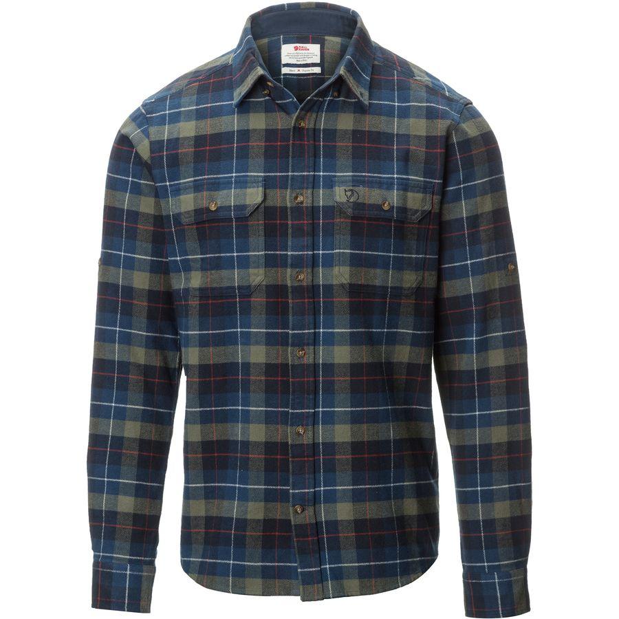 Fjallraven Singi Heavy Flannel Shirt Men S Backcountry Com