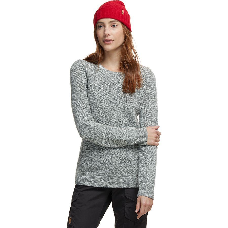 Fjallraven Ovik Structure Sweater – Women's -Eggshell