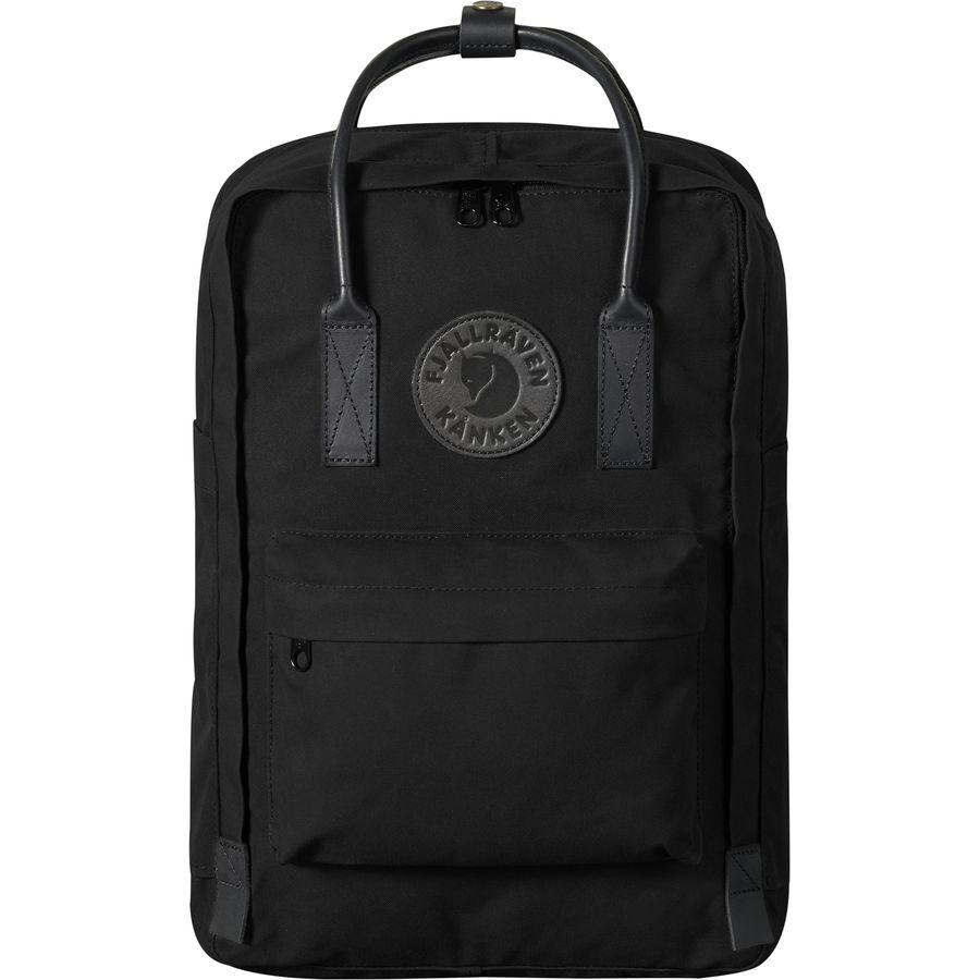 Fjallraven - Kanken No.2 Black 15in Laptop Backpack - Black ac6cd6860ab7