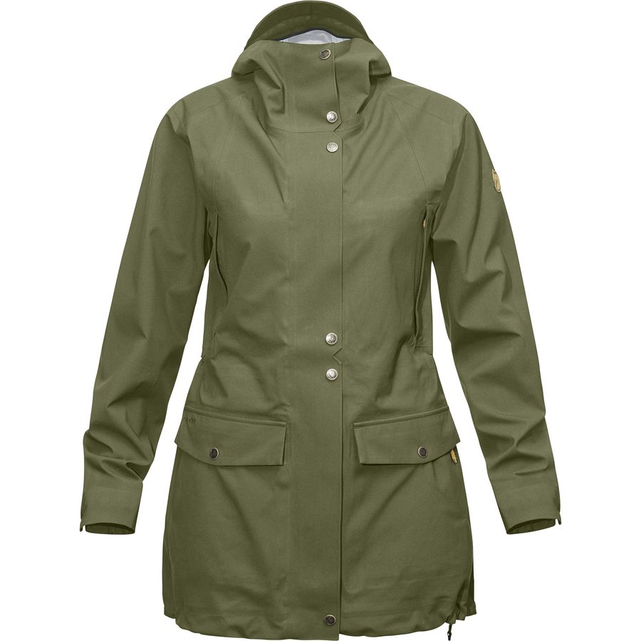 Fjallraven Ovik Eco-Shell Parka - Womens
