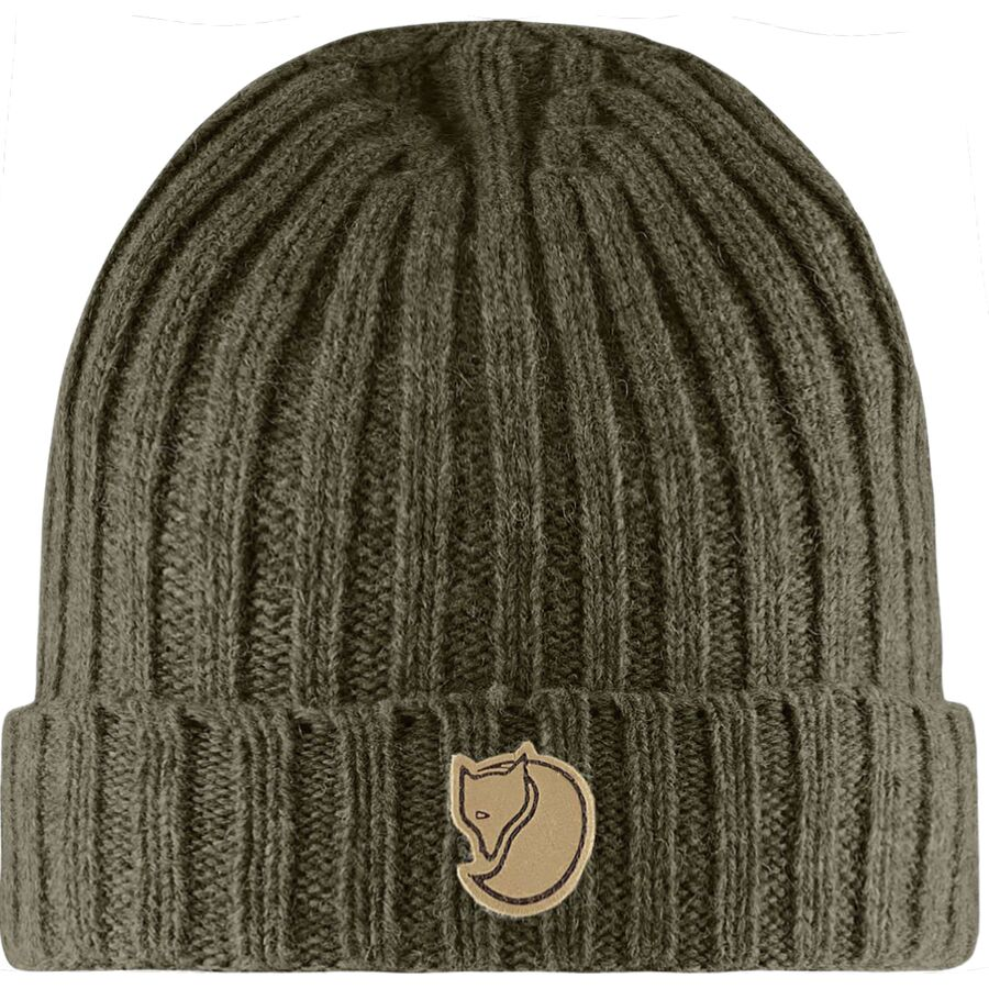 87d2891e1856e Fjallraven - Re-Wool Hat - Dark Olive