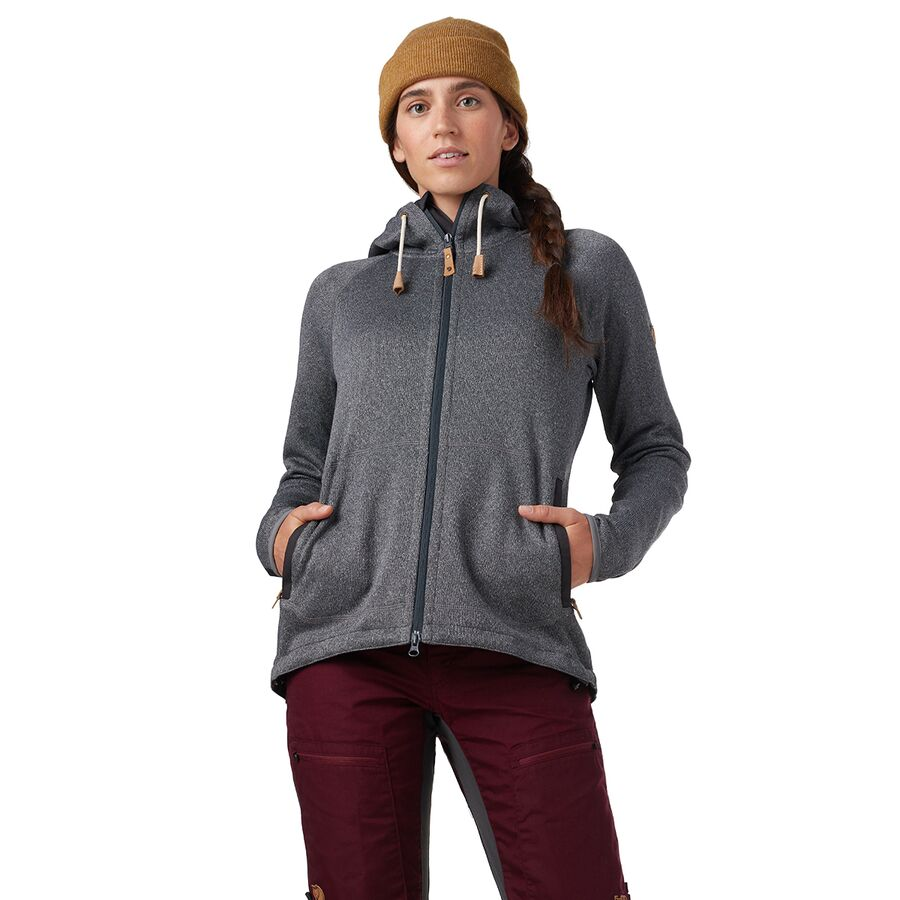 Fjallraven Ovik Fleece Hooded Jacket Women's