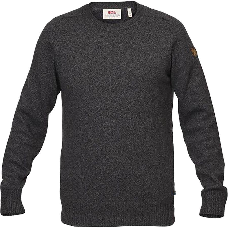 Fjallraven - Ovik Re-Wool Sweater - Men's - Dark Grey