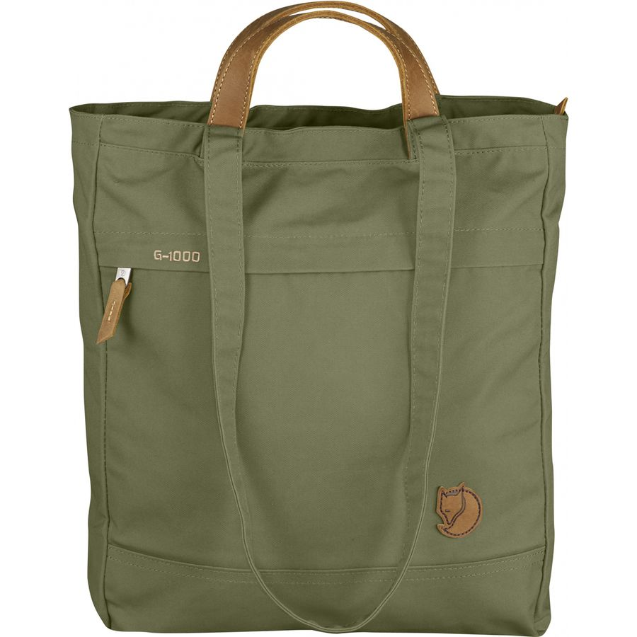 Totepack No 1 Small Shoulder Bag and Backpack for Everyday Use Acorn Fjallraven