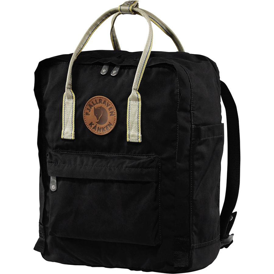 cdd1b0b73 Fjallraven - Kanken Greenland Backpack - Black/Greenland Pattern