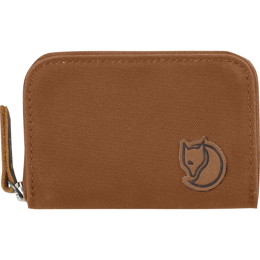 64caf8114c Fjallraven - Zip Card Holder Wallet - Women s - Chestnut