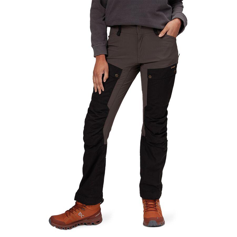 ba11ea76599 Fjallraven - Keb Curved Trouser - Women's - Black/Stone Grey
