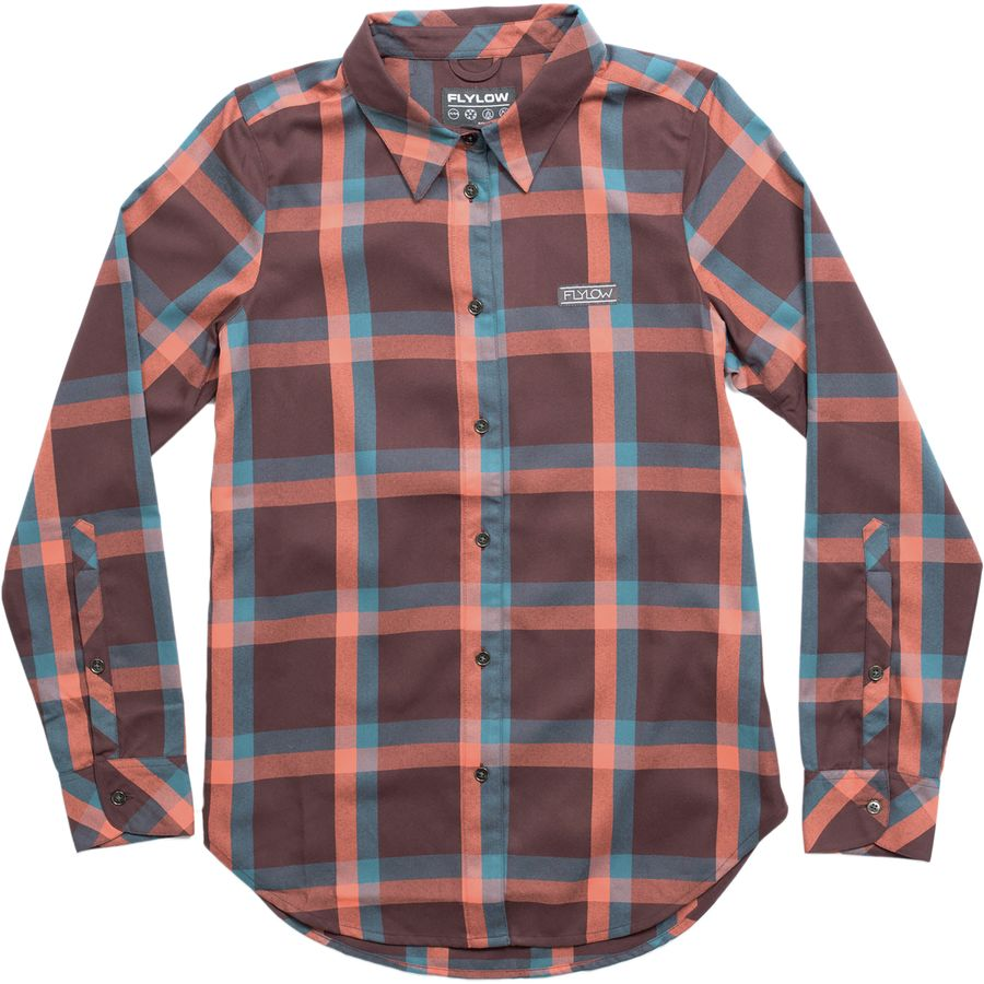 FlyLow Gear Brigitte Tech Flannel Shirt - Womens