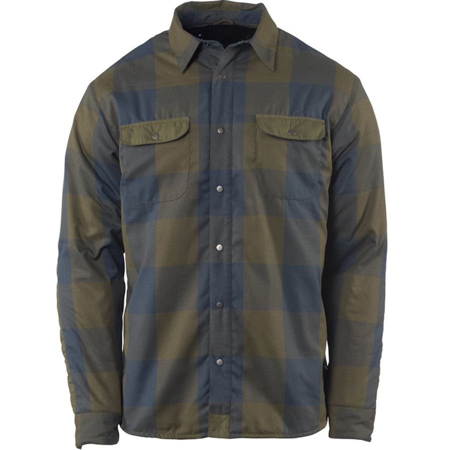 FlyLow Gear Sinclair Insulated Flannel Shirt Jacket - Mens
