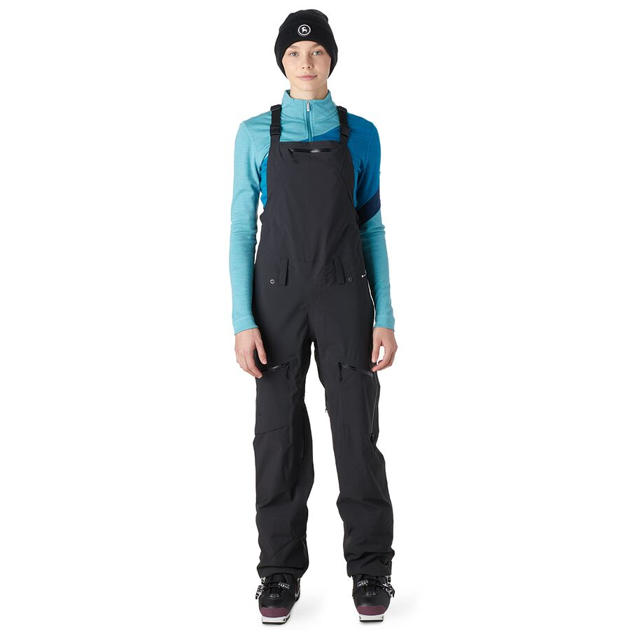 Waterproof Ski and Snowboard Pants Flylow Womens Foxy Bib