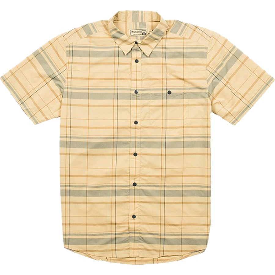 FlyLow Gear Nelson Plaid Shirt - Mens