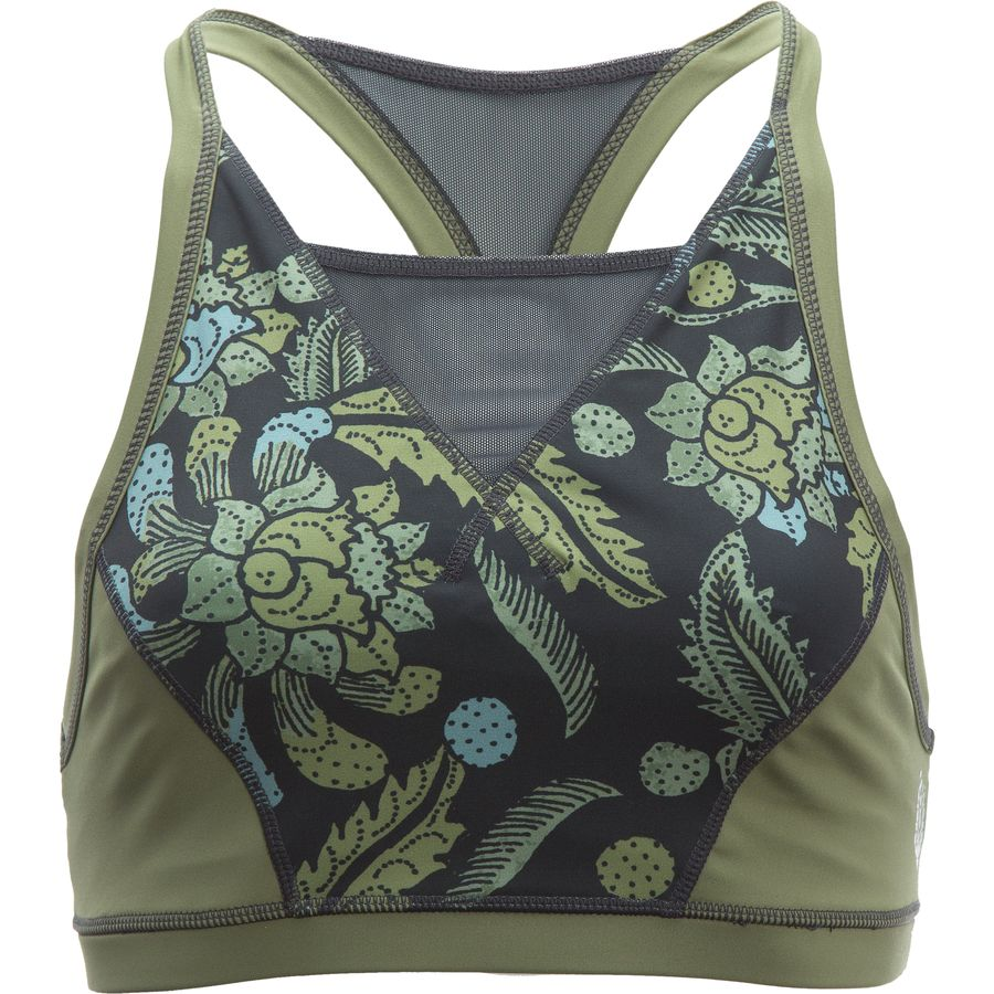 Free People Movement Printed Vida Bra - Womens