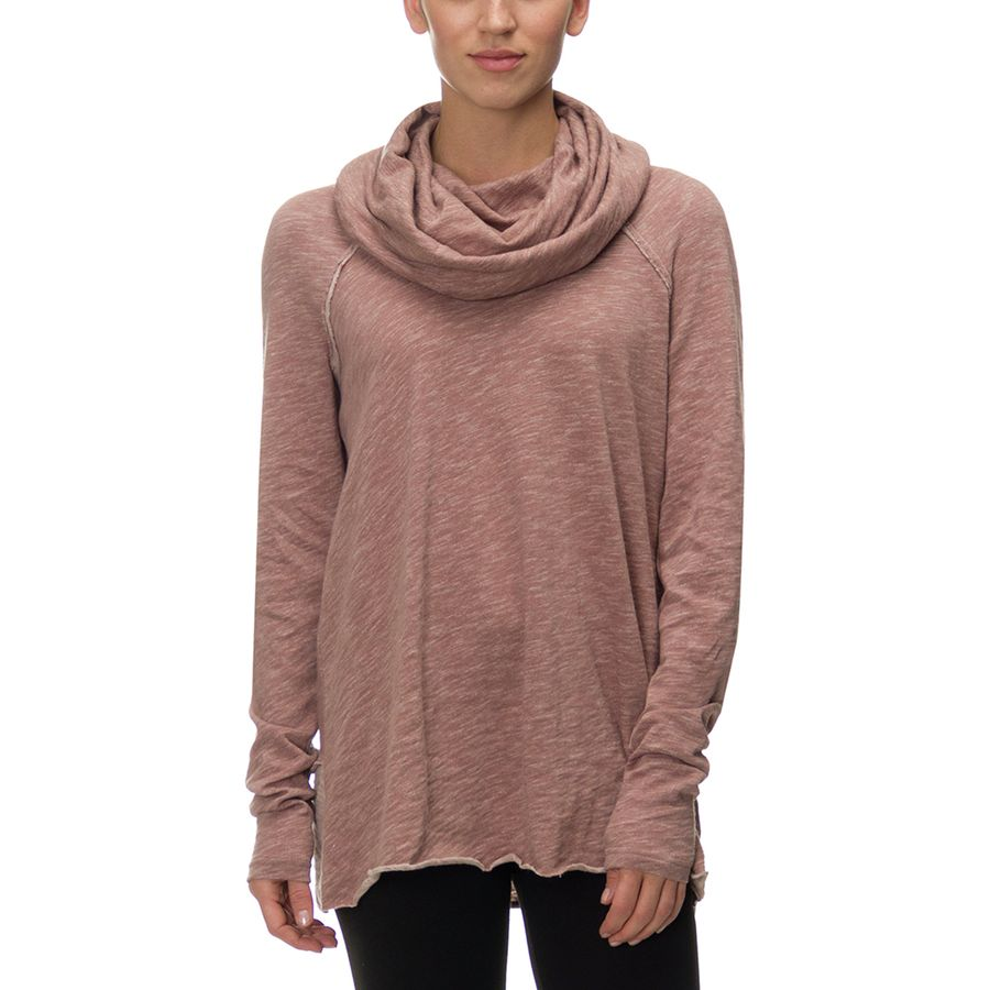 Free People Beach Cotton Cocoon Cowl Pullover - Womens