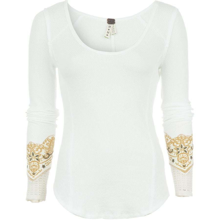 Free People Bandana Cuff Top - Womens