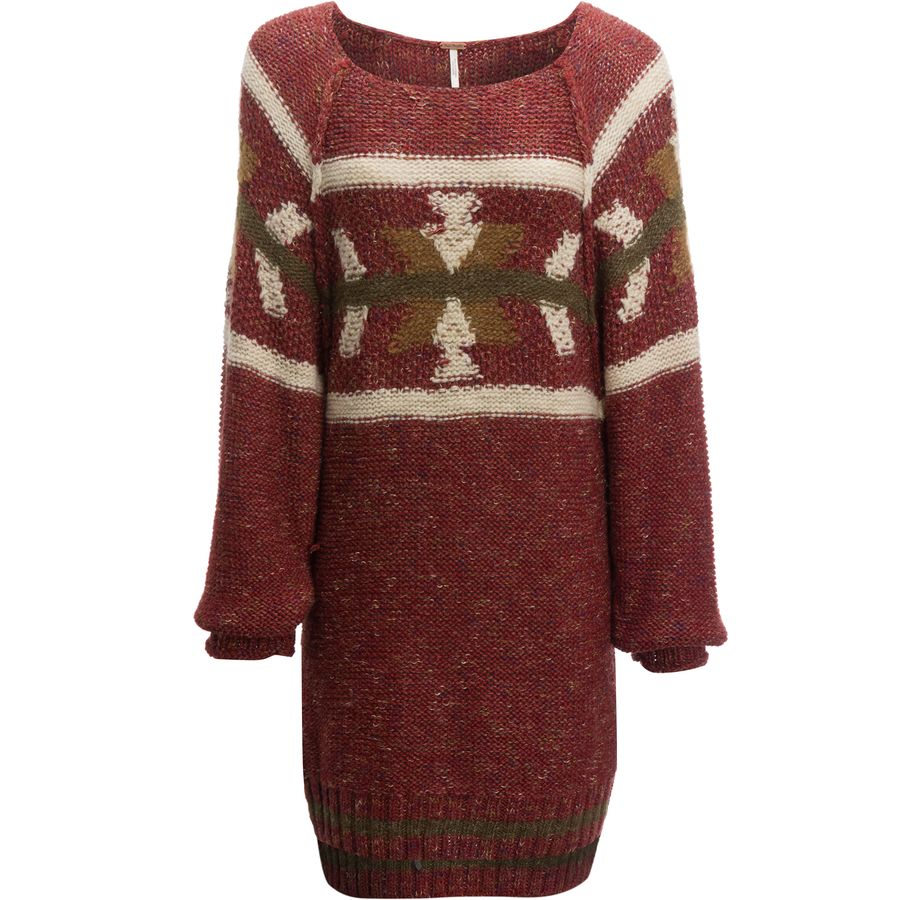 Free People Northern Lights Sweater Mini Dress - Womens