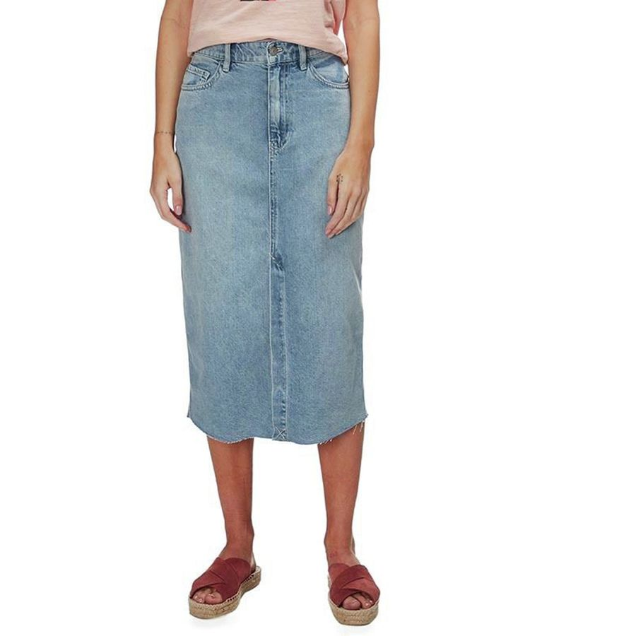 ad568d3503 Free People Wilshire Denim Skirt - Women's | Backcountry.com