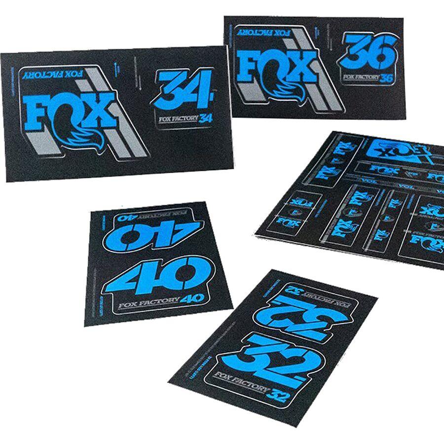 40 // Fork 2020 Fox Racing Shox Heritage Decal Kit // 32 Shock 36 34