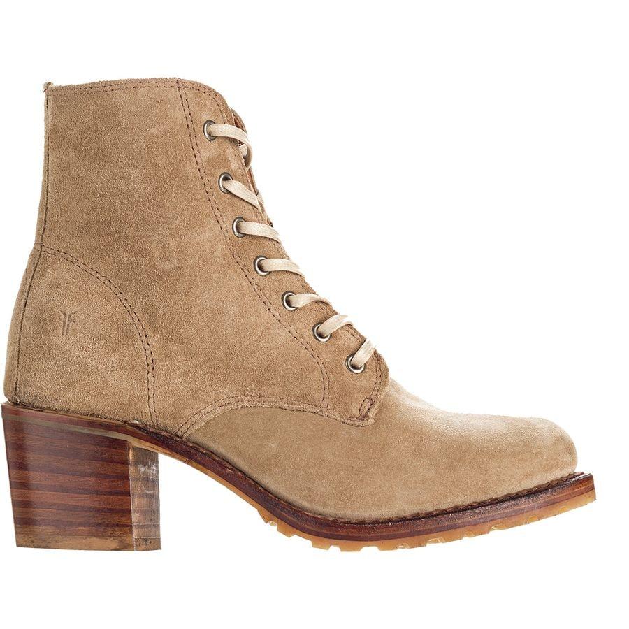 bdbaa3f81c84 Frye - Sabrina 6G Lace Up Boot - Women s - Beige