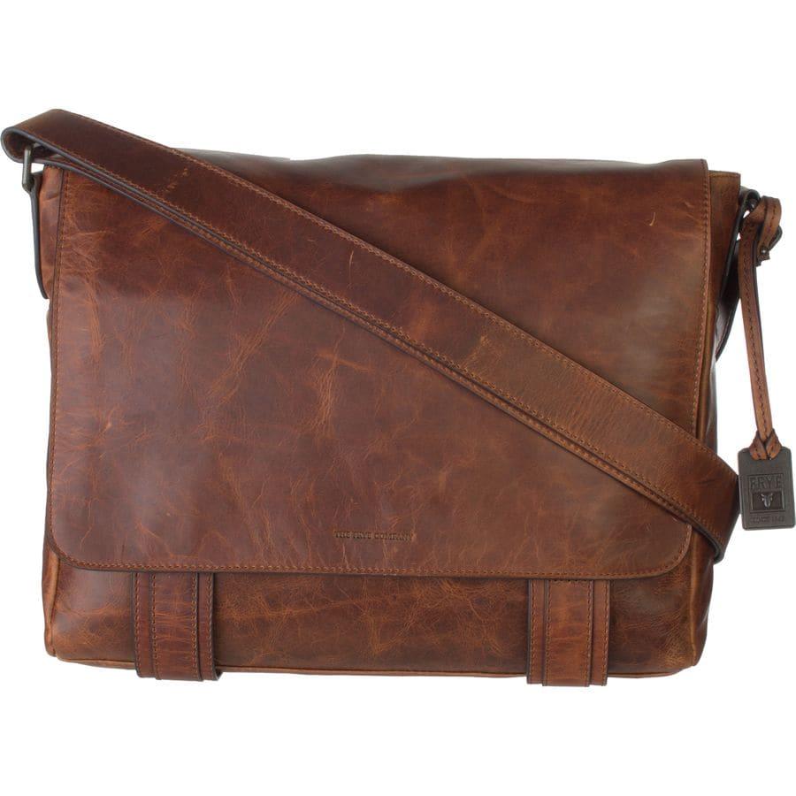 Frye - Logan Messenger Bag - Cognac 59b2ec3897e42
