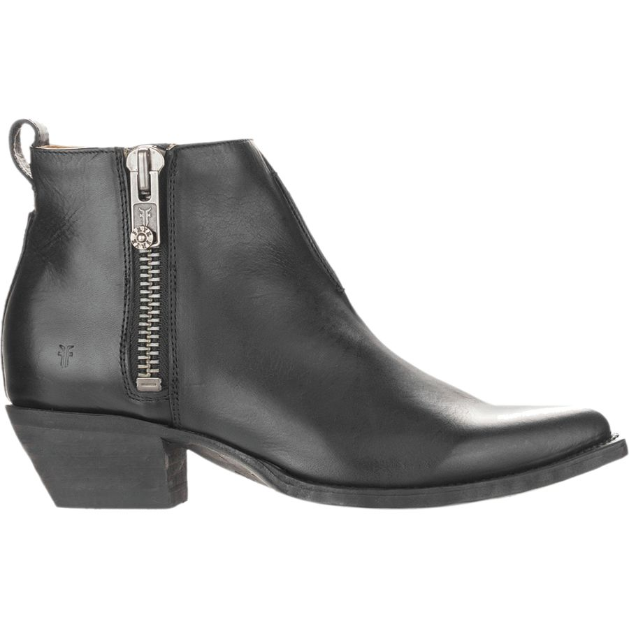 Frye  Sacha Moto Shortie Boot  Womens  Black