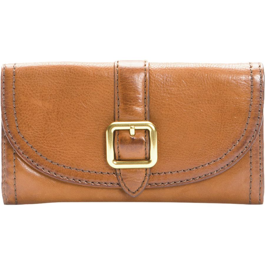 Frye Claude Buckle Wallet - Womens