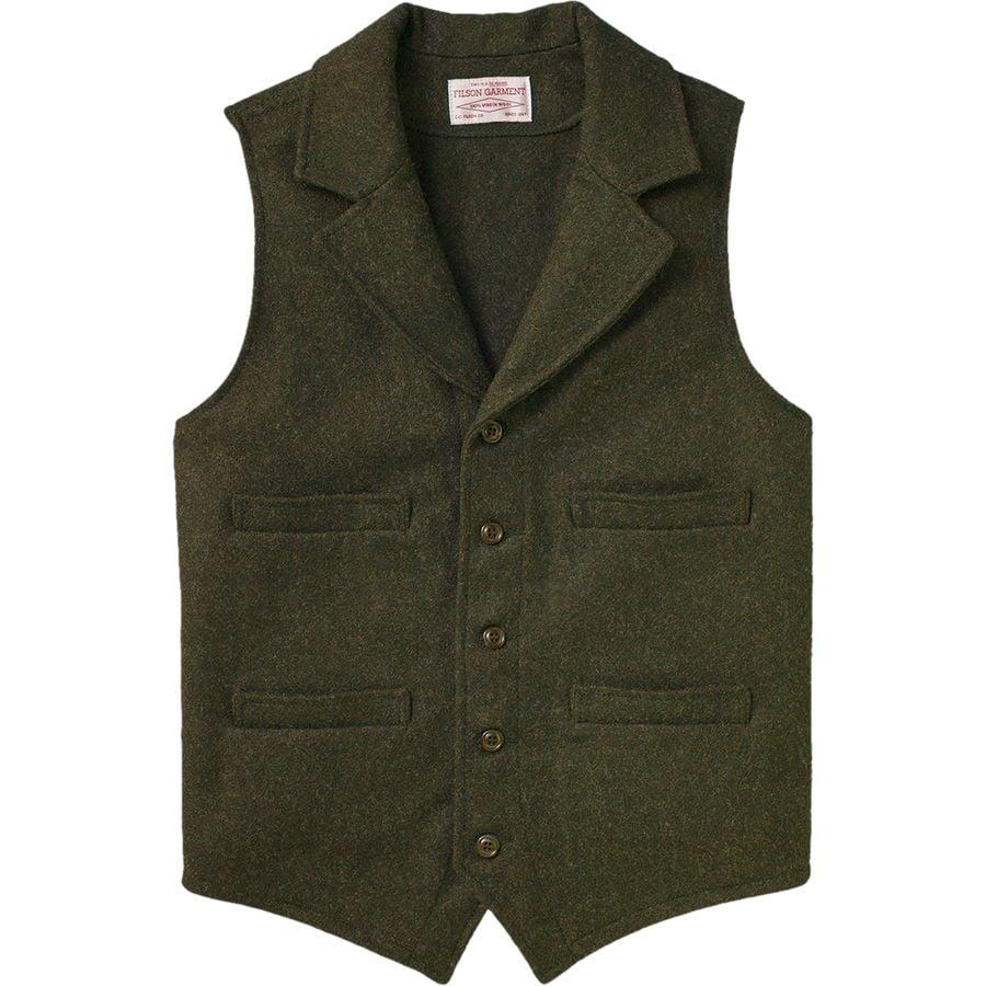 Filson mackinaw western vest men 39 s for Best wool shirt jackets
