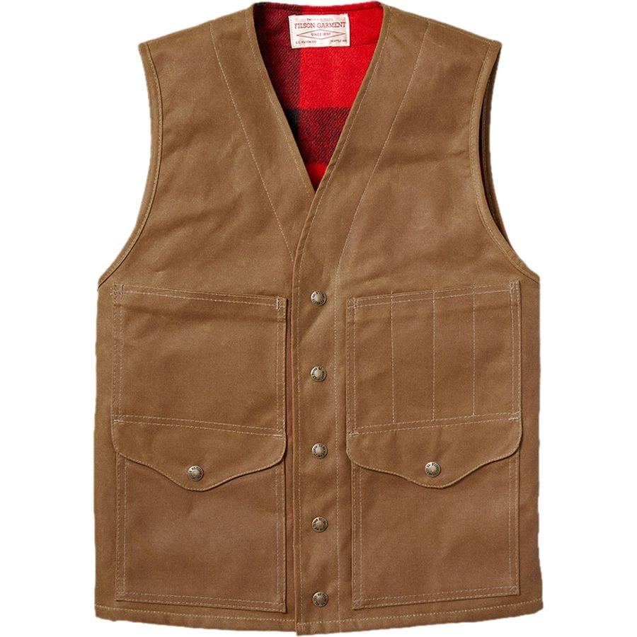 Filson lined cruiser vest men 39 s for Women s fishing vest
