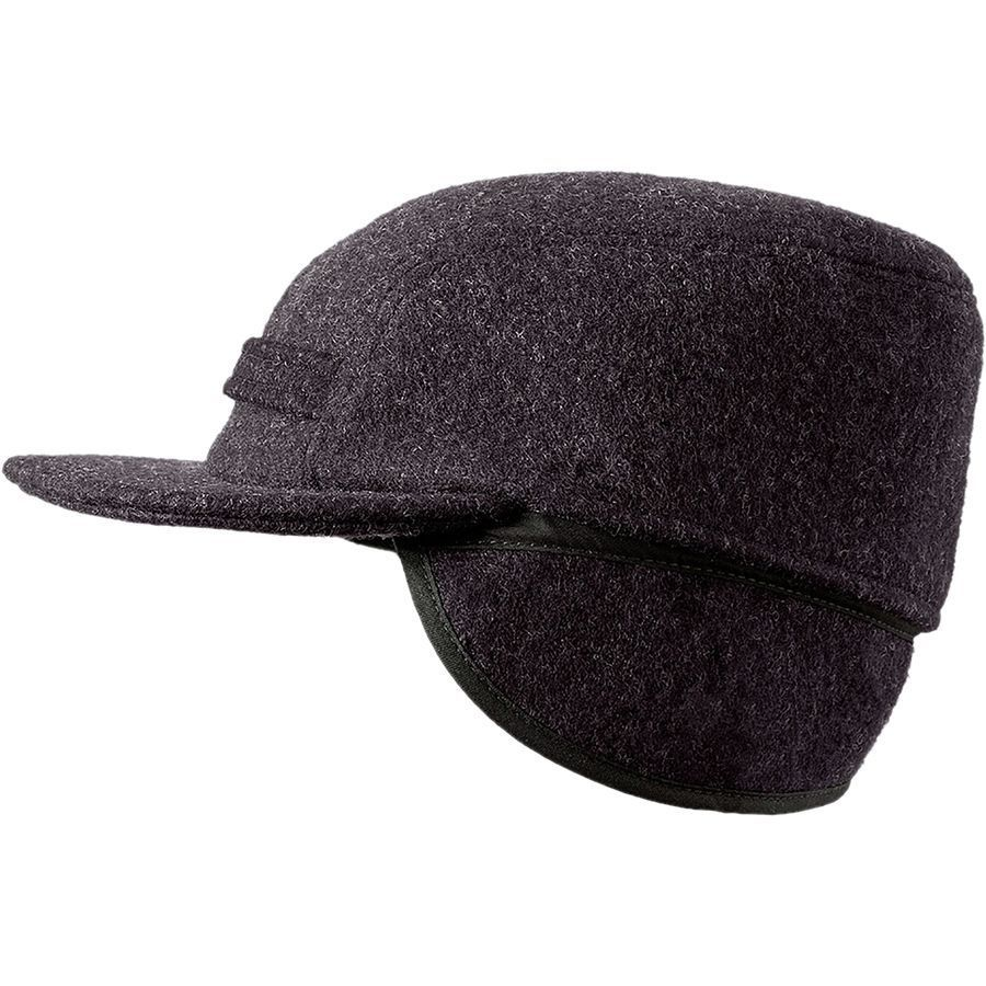 Filson - Mackinaw Cap - Men s - Charcoal 4cc4588c3f5
