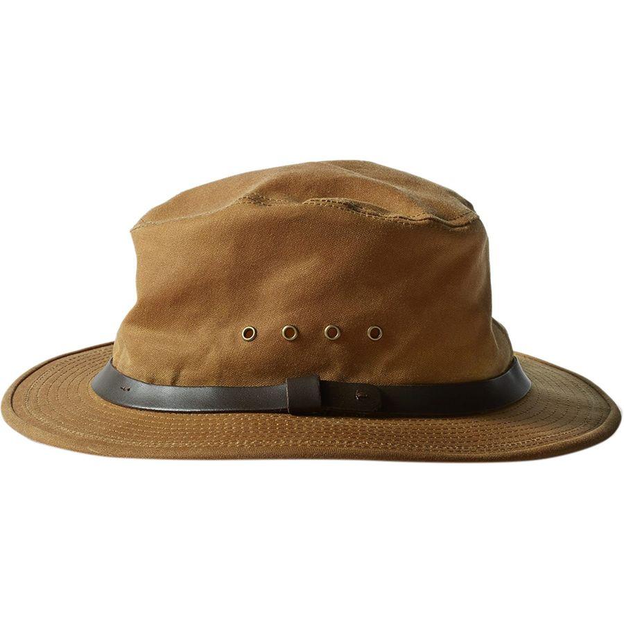 41d14a9e4b989 Filson Tin Cloth Packer Hat - Men's | Backcountry.com