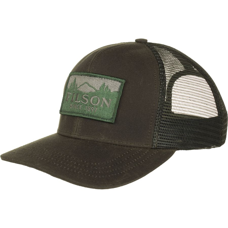 595b6cc88c382c Filson Logger Mesh Cap - Men's | Backcountry.com