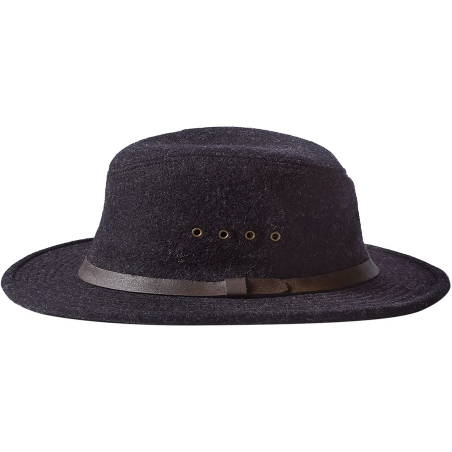 Filson - Wool Packer Hat - Charcoal 1afd29a5aa8