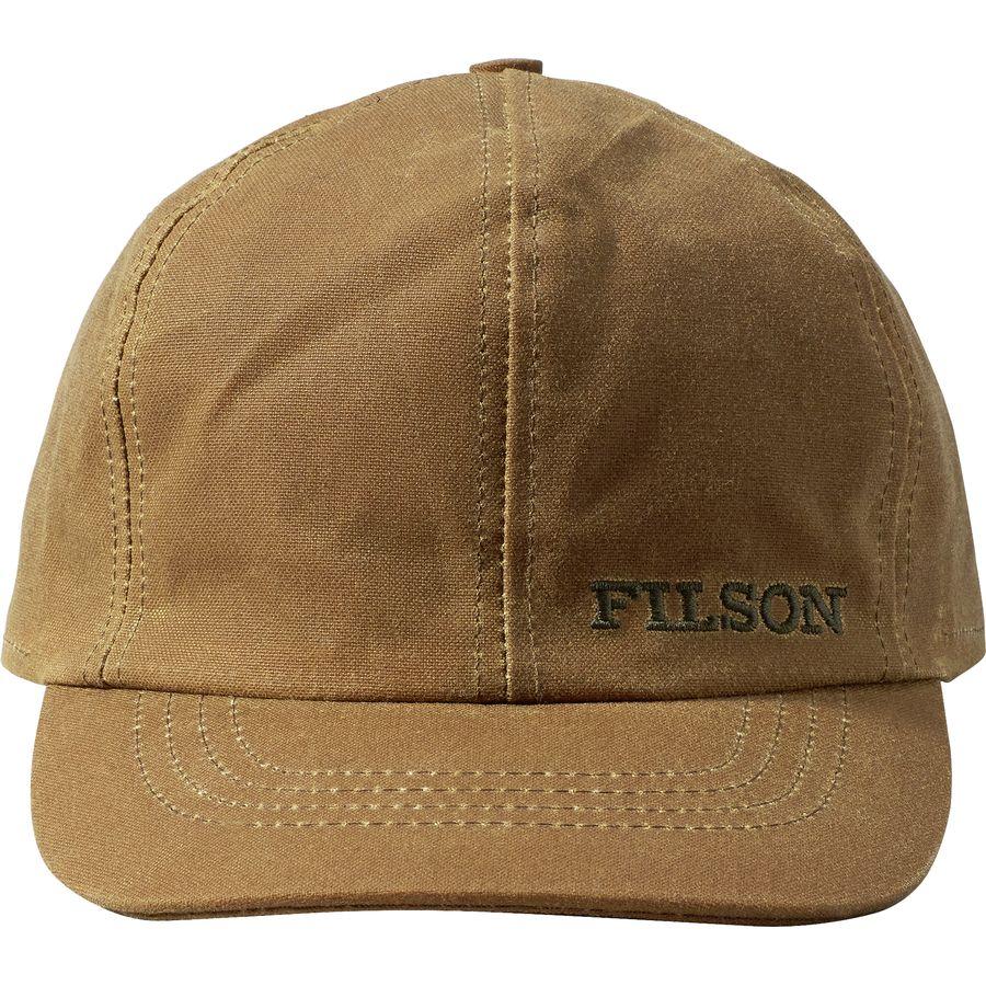 Filson - Insulated Tin Cloth Cap - Men s - Dark Tan 2c412693f24