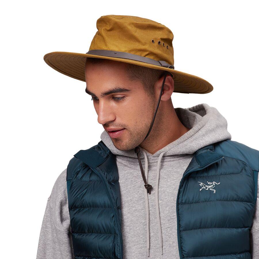 Filson Tin Cloth Bush Hat Men S Backcountry Com