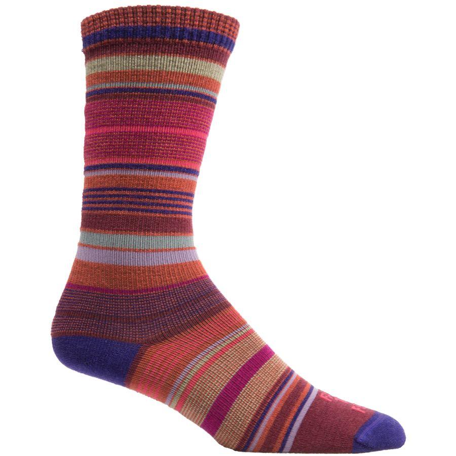 Farm To Feet Ithaca Multi Stripe Sock - Womens