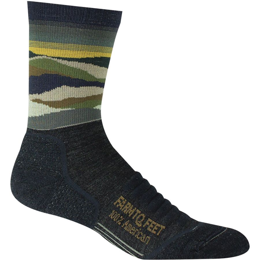 Farm To Feet Max Patch Mountain 3/4 Technical Crew Sock - Mens