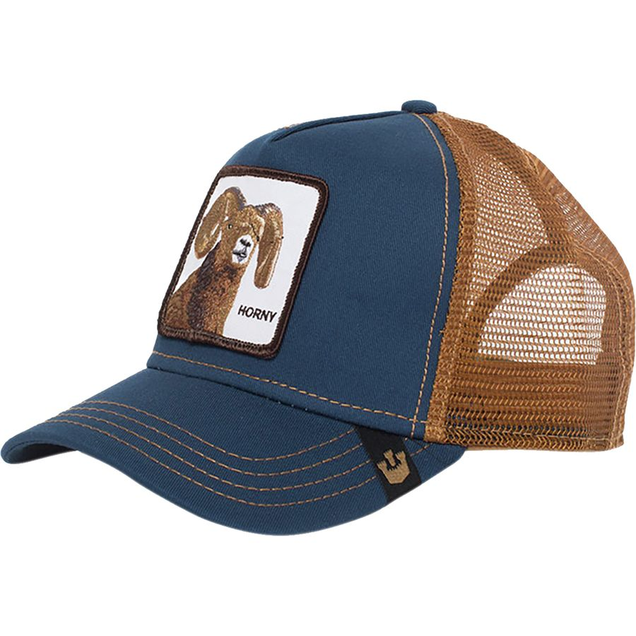 8a2db2e545813 Goorin Brothers - Wild Collection Animal Farm Trucker Hat - Men s - Big  Horn Navy