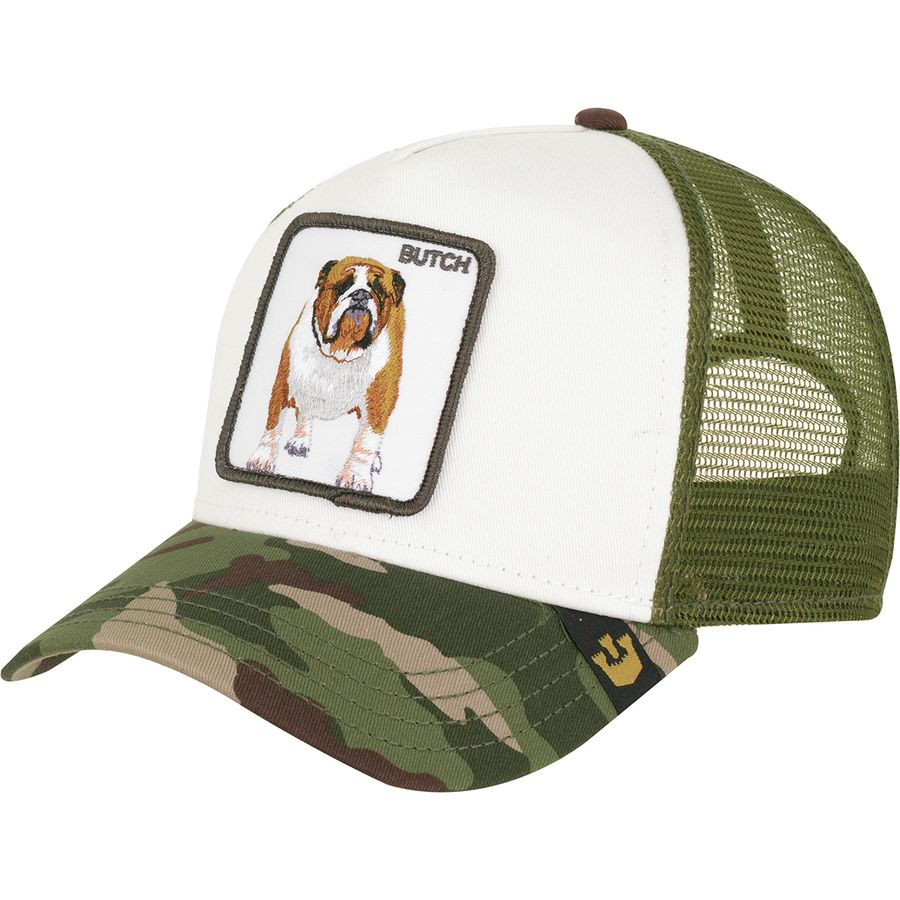 3dbc64f2 Goorin Brothers - Barn Collection Animal Farm Trucker Hat - Butch/Olive