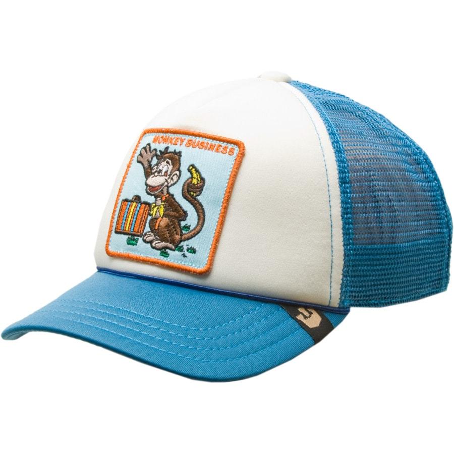 7d5441b09e1 Goorin Brothers - Animal Trucker Hat - Kids  - Monkey Business Blue